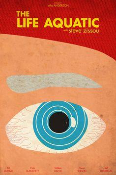 The Life Aquatic with Steve Zissou | Alternative Poster www.troublewithfilm.com