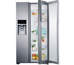 Love the ice dispenser and clear inner door. RH57H8030SL/EU American-Style Fridge Freezer - Stainless Steel