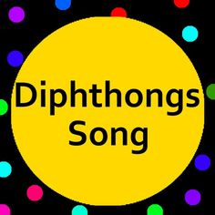 Diphthongs song with vowel sounds for Oi, Oy, Ou, Ow and Ew.