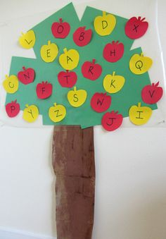 alphabet for starters apple tree