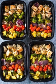 15 delicious and healthy chicken meal prep bowls. 15 delicious and healthy chicken meal prep bowls - My Mommy Style. embrace the mom you are Lunch Meal Prep, Meal Prep Bowls, Healthy Meal Prep Lunches, Meal Prep Salads, High Protein Meal Prep, Protein Lunch, Taco Salads, Dinner Healthy, Best Protein Snacks