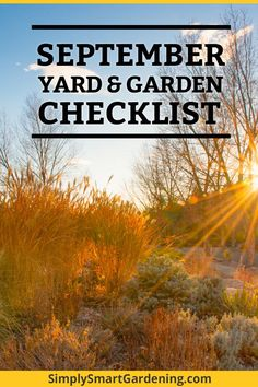 garden care yards What To Do In Your Yard amp; Garden This September (Early Fall) ,