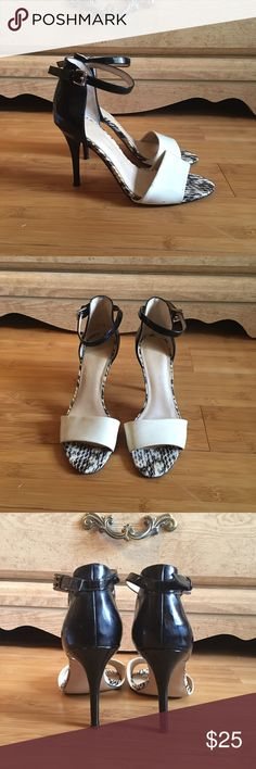 """Marc Fisher """"Ferna"""" heels Pre-owned and loved ❤️ worn about 3x. Has some wear and tear, minor scuffs and scratches, still in good condition. Heel is about 3"""" 7/10. Marc Fisher Shoes Heels"""