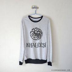 Khaleesi Long Sleeve Tshirt / Khaleesi di KissMeBangBang su Etsy