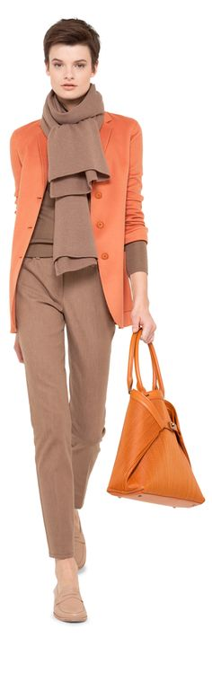 Akris Fall/Winter 2013/14 Custom Suits, Blazers, Fall Winter, Trousers, Women's Fashion, My Style, Shopping, Color, Toss Pillows
