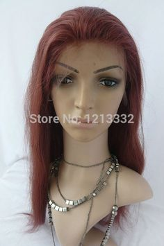 """68.00$  Buy now - http://ali5qm.worldwells.pw/go.php?t=32229557534 - """"Hot Queen Sex products chinese virgin hair silky straight u part wig human hair wigs #33 color can be customized 6""""""""-24""""""""miracurl"""""""