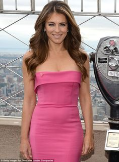 You have to Lauder: She looked even better when she launched the cosmetic company'sBreast Cancer Awareness Month last week in New York