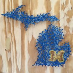 University of Michigan string art! University Of Michigan Logo 0d71d8bb7521