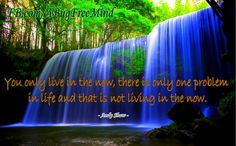 Live in the now.... https://web.facebook.com/CreatingABugFreeMind/photos/a.171454049549660.42795.131140433581022/1310122672349453/?type=3&theater