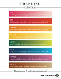 {Whitney English} JAN 31, 2012 – Branding Color Guide → http://blog.whitneyenglish.com/branding-color-guide