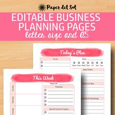 DIRECT SALES PLANNER PRINTABLE A5 // BUSINESS PLANNER A5  These business planner pages are a perfect addition if you are a small business owner!  This kit includes a daily planner and a weekly planner. Comes in two sizes - letter size and A5! Use in your A5 planner as a direct sales printable tracker.   https://www.etsy.com/listing/460029033/direct-sales-planner-a5-business-planner