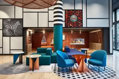 The fantastical renovation of Hotel Pullman Berlin Schweizerhof references the nearby zoo and turns the Bauhaus aesthetic on its head.