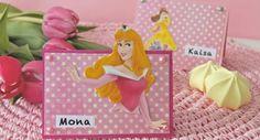 Prinsessajuhliin paikkakortit
