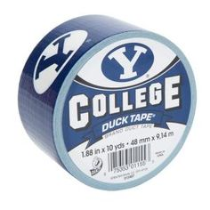 """BYU Duck Tape--Awesome.  - MormonFavorites.com  """"I cannot believe how many LDS resources I found... It's about time someone thought of this!""""   - MormonFavorites.com"""