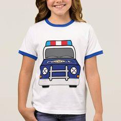 For kids that love cops! http://ift.tt/2vnvFAb #policefan #copcar #littlehero #kidstshirt #personalizedgift