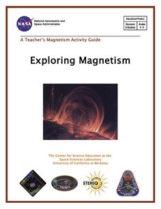 Exploring Magnetism activity guide - metal filings on top of magnets Grade 3 Science, Science Curriculum, Science Classroom, Science Education, Earth Science, Education Middle School, Elementary Schools, The Magicians Nephew, Magnets Science