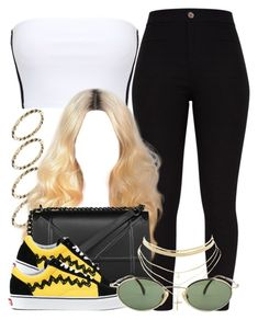 """""""3 4 18"""" by miizz-starburst ❤ liked on Polyvore featuring ASOS, Vans and Charlotte Russe"""