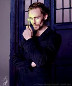 Tom Hiddleston: ok, I've resisted posting Tom as a possibility for the Doctor, because I think he's way too busy to consider it. But since I'd love it, here he is.