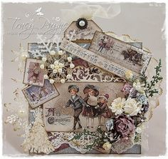 Live & Love Crafts' Inspiration and Challenge Blog: I'm Dreaming of a White Christmas