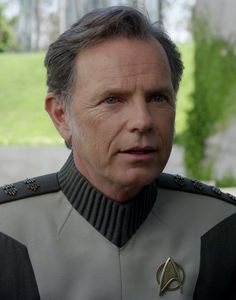Captain Christopher Pike (Bruce Greenwood) - from Star Trek XI & XII.