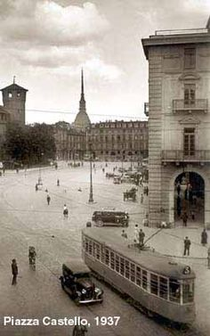 Piazza Castello 1931 - Torino
