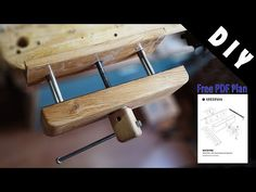 Wooden Work Bench, Diy Bench, Woodworking Vice, Woodworking Bench, Wood Vise, Workbench Plans Diy, Making A Bench, Intarsia Patterns, Bench Vise