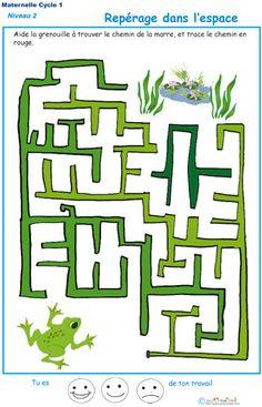 Le labyrinthe 6 : La grenouille et la mare