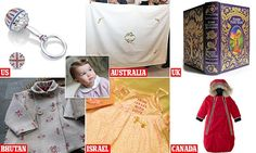 Princess Charlotte is lavished with gifts from around the world | Daily Mail Online