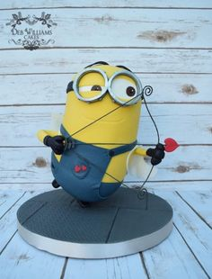 Cupid Minion by Deb Williams Cakes