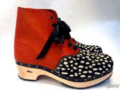 Eferro handmade clogs. www.elenaferro.com
