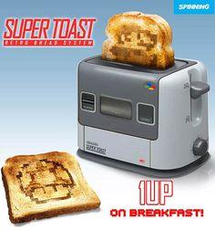 A Super Nintendo Toaster!