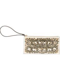 MARNI Embellished Clutch