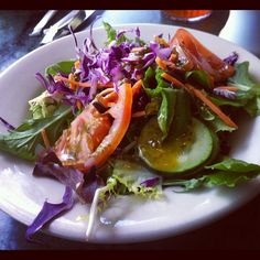 A beautiful photo of our house salad taken by a patron.