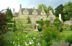 Barnsley House, Cotswolds, UK Few English gardens can compete with the spectacular grounds of Barnsley House – a sprawling jigsaw of terraces, formal lawns and striking statuary. Designed by the legendary Rosemary Verey, they're home to a lily-padded carp pond, an ornamental vegetable garden and the most glorious walk, shaded by tumbling lemon-yellow laburnum.