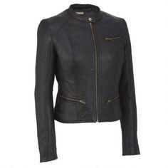 Black Rivet Multi Seamed Leather Scuba $279.99                      Our Price…
