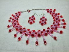 ROSESTYLE DREAM  : Kırmızı Kolye Set ( Red Necklace Set )