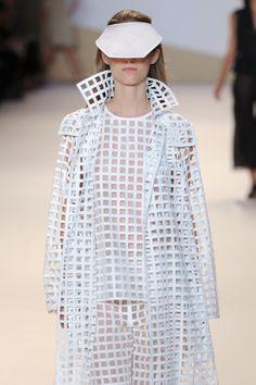 Grid cut outs in a matching ensemble seen at@AkrisInsider.
