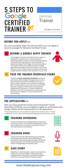 5 Steps to Google Certified Trainer  #RePin by AT Social Media Marketing - Pinterest Marketing Specialists ATSocialMedia.co.uk