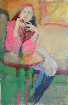 48 Female Figure Drawing Ideas With Crayon - Art Figure Painting, Figure Drawing, Painting & Drawing, Art Inspo, Painting Inspiration, Art Et Illustration, Illustrations, Art Amour, L'art Du Portrait