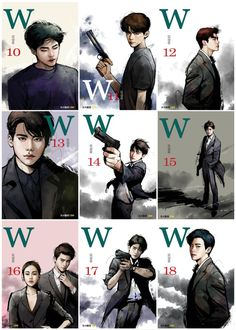 on - Funny Moments Lee Jong Seok, Jung Suk, Lee Jung, W Korean Drama, Korean Art, W Two Worlds Art, W Two Worlds Wallpaper, W Kdrama, Kdrama Memes