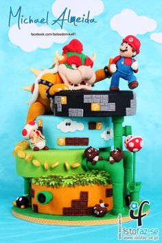 SUPER MARIO - The Sugar Fraternity GAME ON! Collaboration  by Michael Almeida