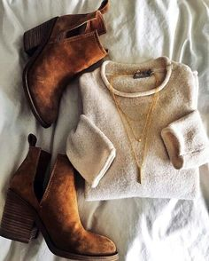 Best Cute Fall Outfits Part 4 Fashion Moda, Look Fashion, Fashion Outfits, Womens Fashion, Petite Fashion, Cheap Fashion, Fashion 2017, Curvy Fashion, Fall Fashion