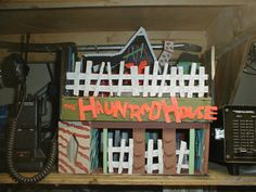 Another Haunted House Model built in the 1990s