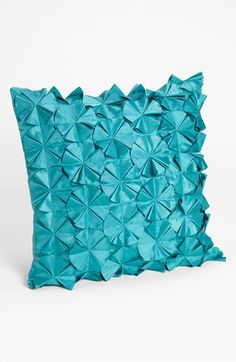 Nordstrom at Home 'Pinwheel' Pillow Cover Large Cushion Covers, Sofa Cushion Covers, Decorative Pillow Covers, Needle Cushion, Canadian Smocking, Sofa Styling, Crochet Cushions, Fabric Manipulation, Pinwheels
