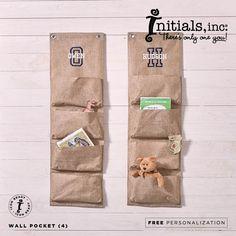 Wall Pocket {4} | $25 Free Personalization
