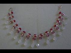 making a beaded bracelet  ~Easy ~