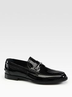 Gucci Patent Leather Moccasin $595