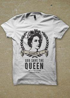 Queen Elizabeth Jubilee Womens T Shirt