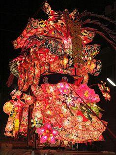 Tonami-yotaka festival held in June