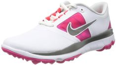 Nike Golf women's FI Impact Wide Golf Shoe,White/Grey/Vivid W US. Item dimensions: width: height: 1700 hundredths-inches. Nike Shoes, Sneakers Nike, Womens Golf Shoes, Nike Sweatshirts, Nike Golf, Ladies Golf, Amazing Women, Printed Shirts, Athletic Shoes